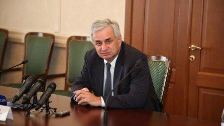 Визит Президента Абхазии Рауля Хаджимба